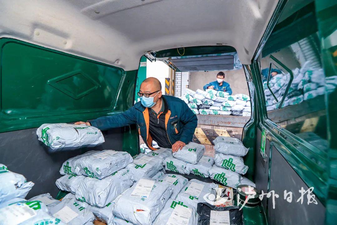 预计2024年底,泸州1143个行政村实现快递网络全覆盖